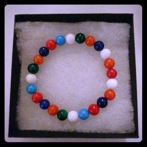 Jewelry - Multi Mountain Jade Stone Bracelet